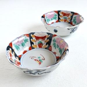 【30708】昭和のお花の中鉢(1個)/ Flower Bowl / Showa