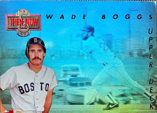 MLBカード 93UPPERDECK Wade Boggs #TN1 RED SOX