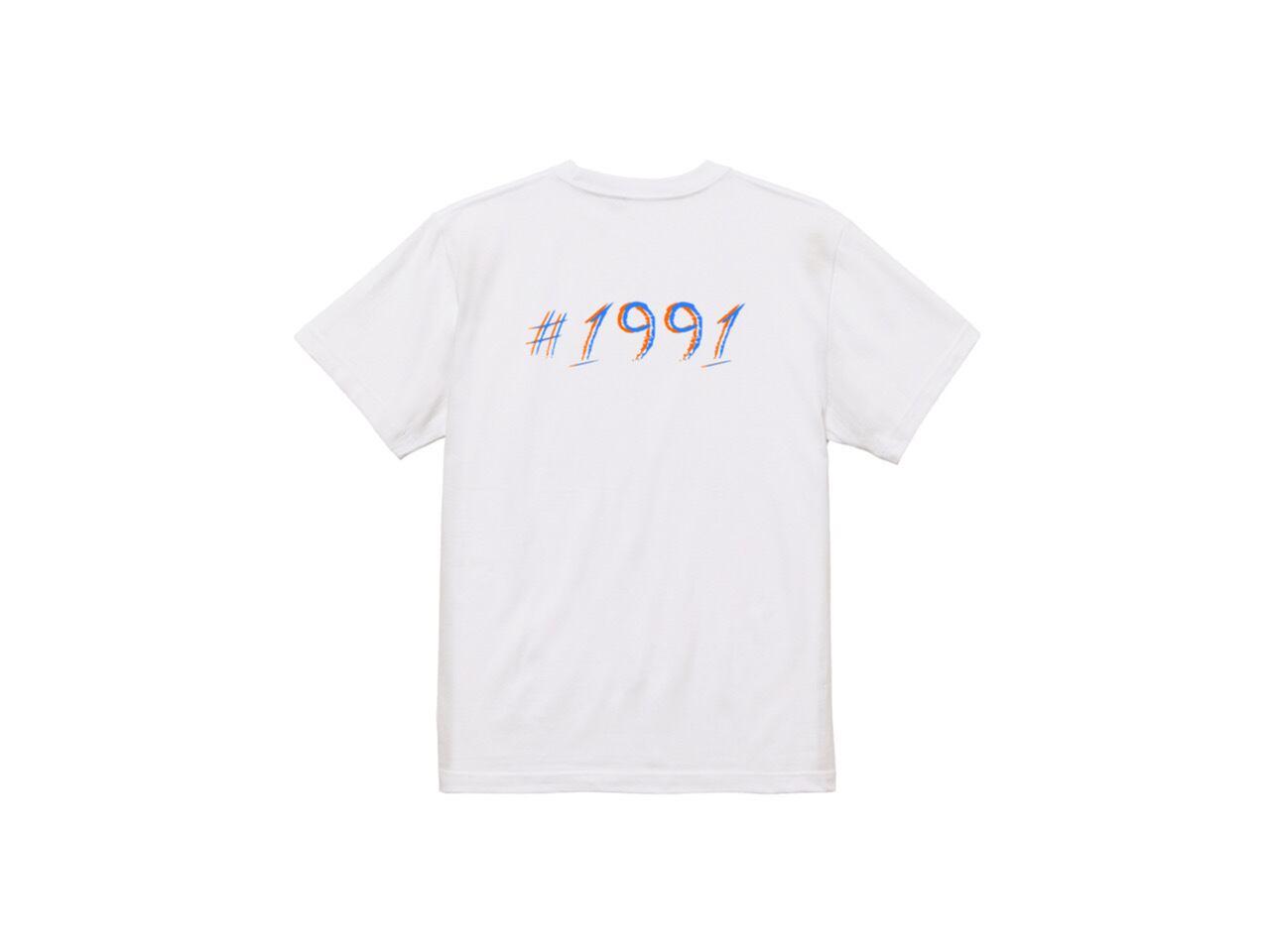 #1991 Back 2color T-shirts (ORG/SKY)