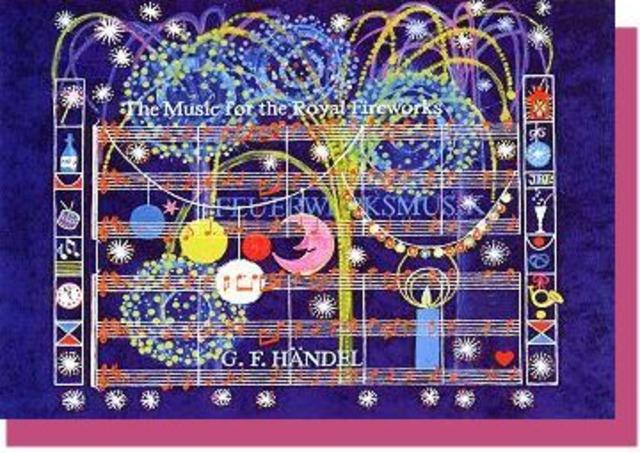 王宮の花火の音楽 / ヘンデル グリーティングカード