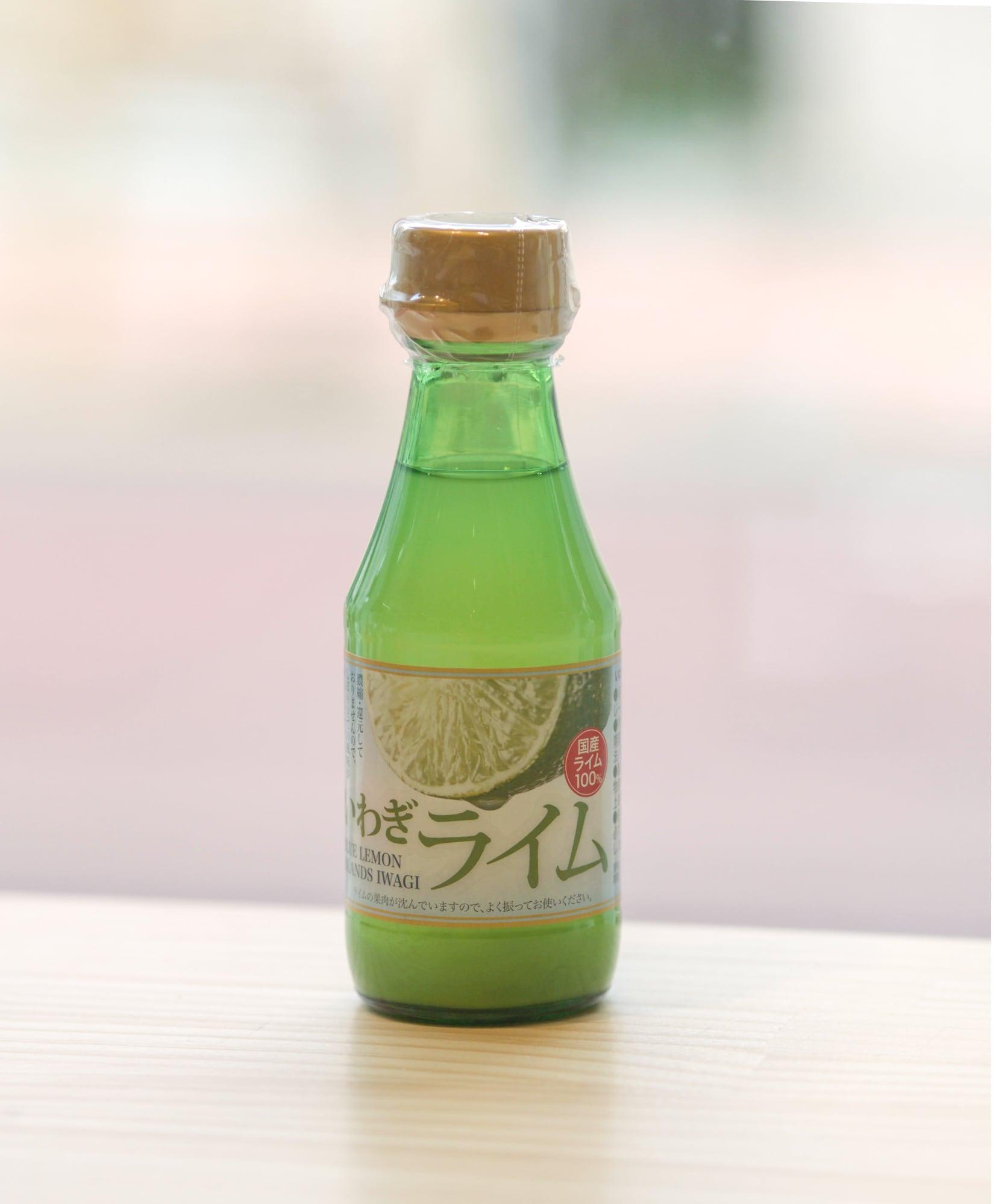 愛媛県・上島町のライム果汁