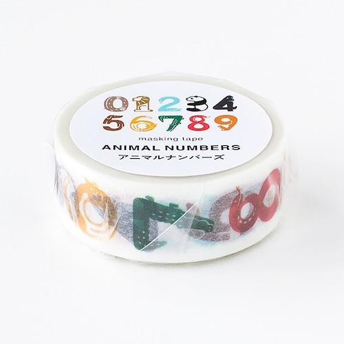 ANIMAL NUMBERS テープ