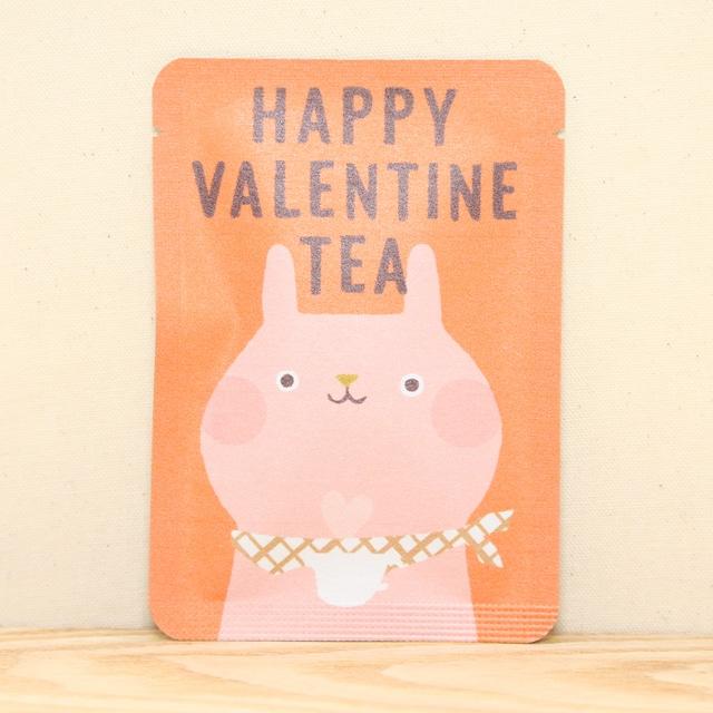 HAPPY VALENTINE TEA|ごあいさつ茶|和紅茶ティーバッグ1包入り