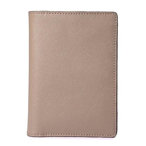 IUHA 本革 パスポートケース 旅行用品 航空券 チケット 小物収納 便利グッズ レザー トラベル   mb1501007600