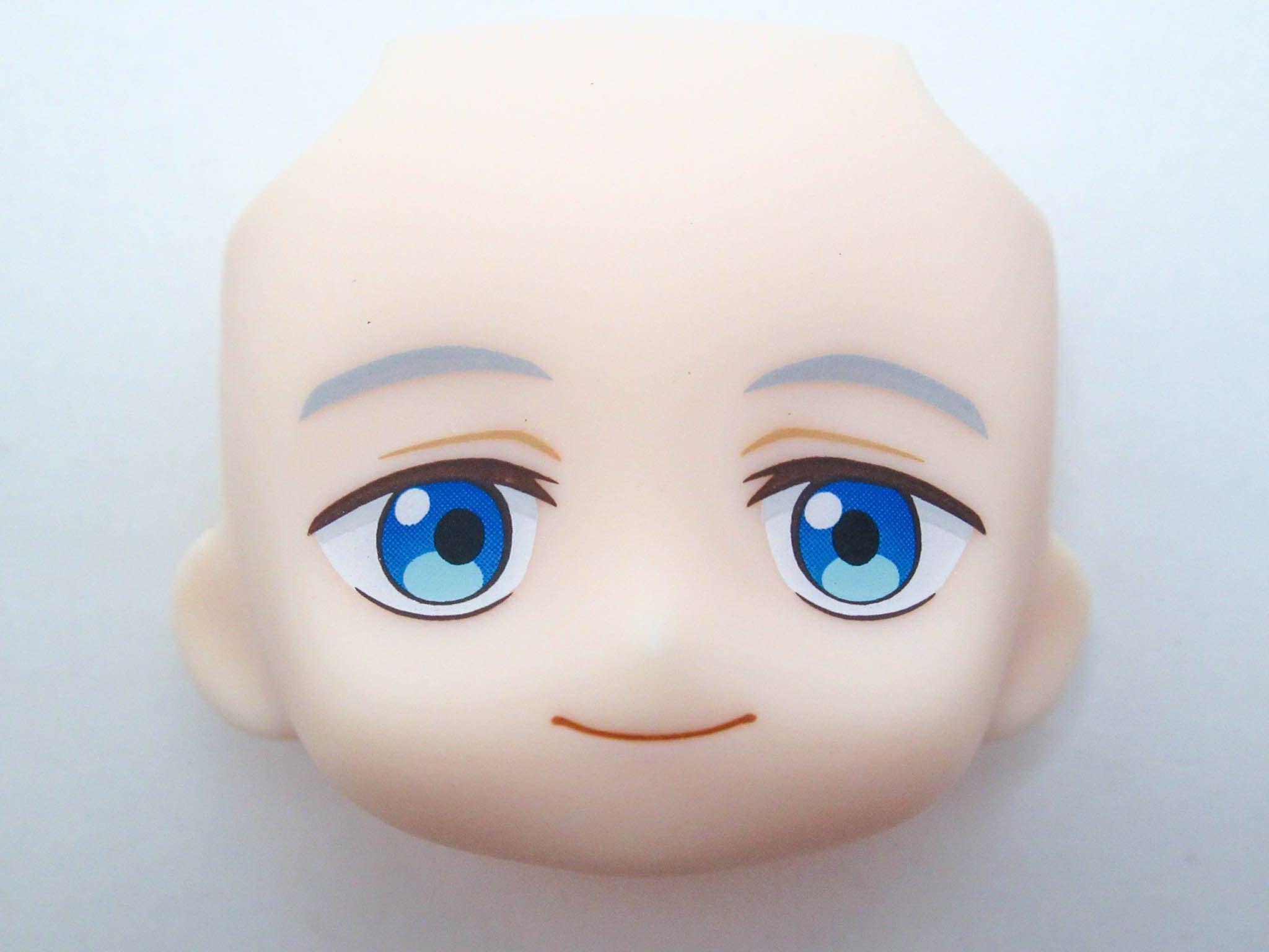 【SALE】【1505】 ノーマン 顔パーツ 普通 ねんどろいど
