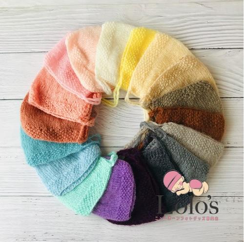 一番あわせやすいかも♡全18色のシンプルモヘア帽子