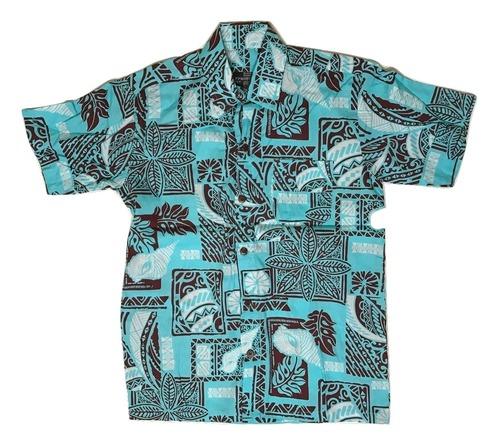 Aloha Shirt Skyblue【Kids】