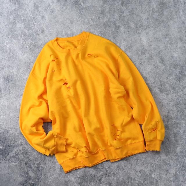 """"""" BORO """"   Sweat  Shirt   YELLOW"""