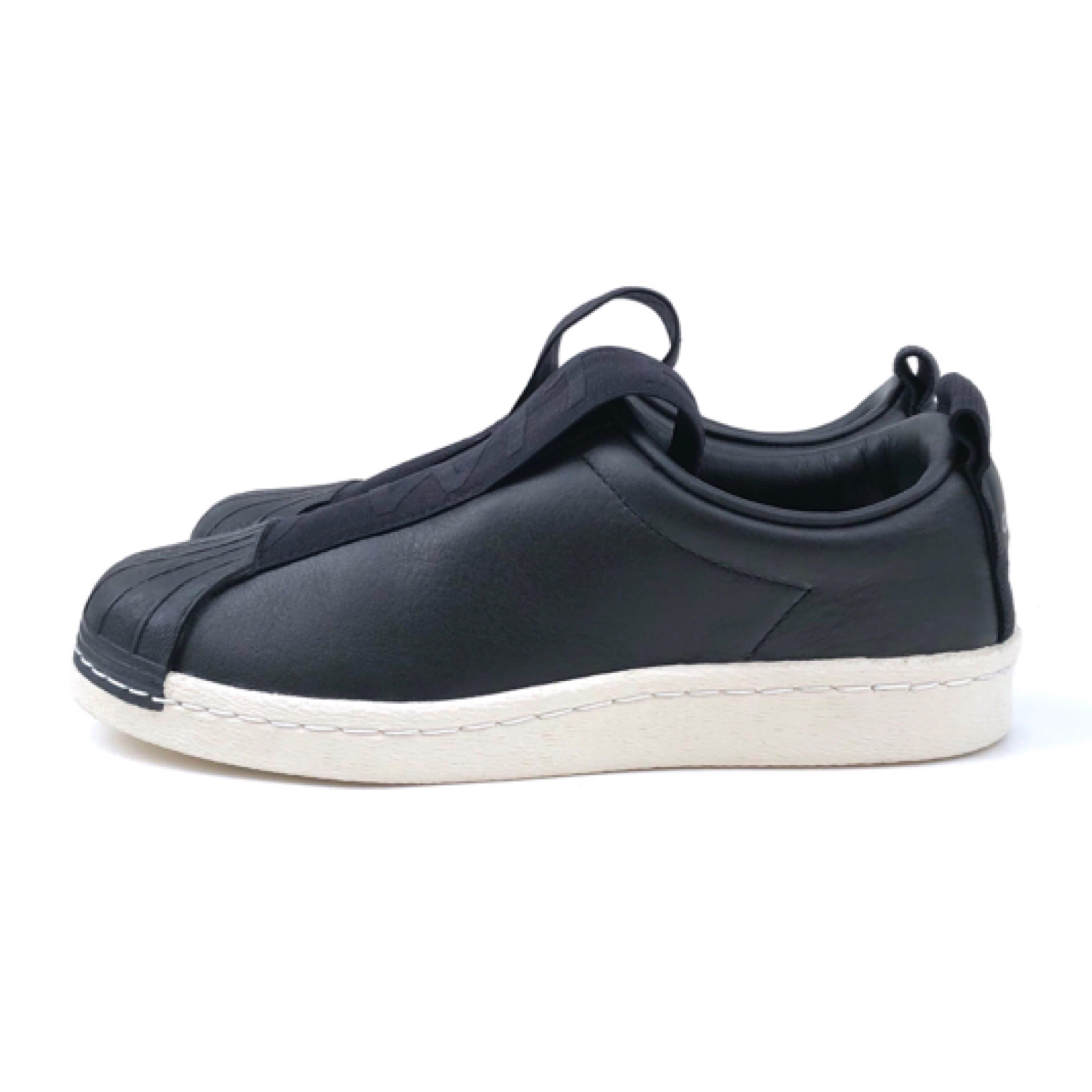 adidas/Slip On/BLACK
