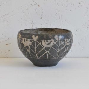 渡辺信史 黒釉チャイカップ(008-4)