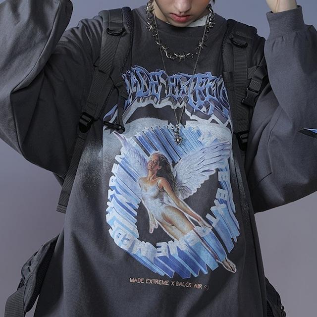 《ランキング1位》天使オーバーシャツ(全3色) / HWG110