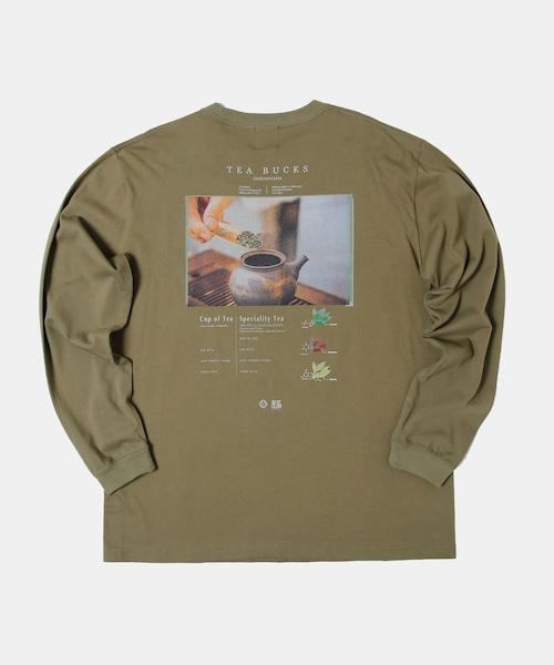 BITE CLUB×TEA BUCKS コラボTシャツ Green