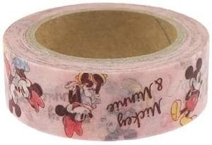 姫雑貨 ミッキー&ミニー[マスキングテープ]紙クラフトテープ/ ディズニー  通販商