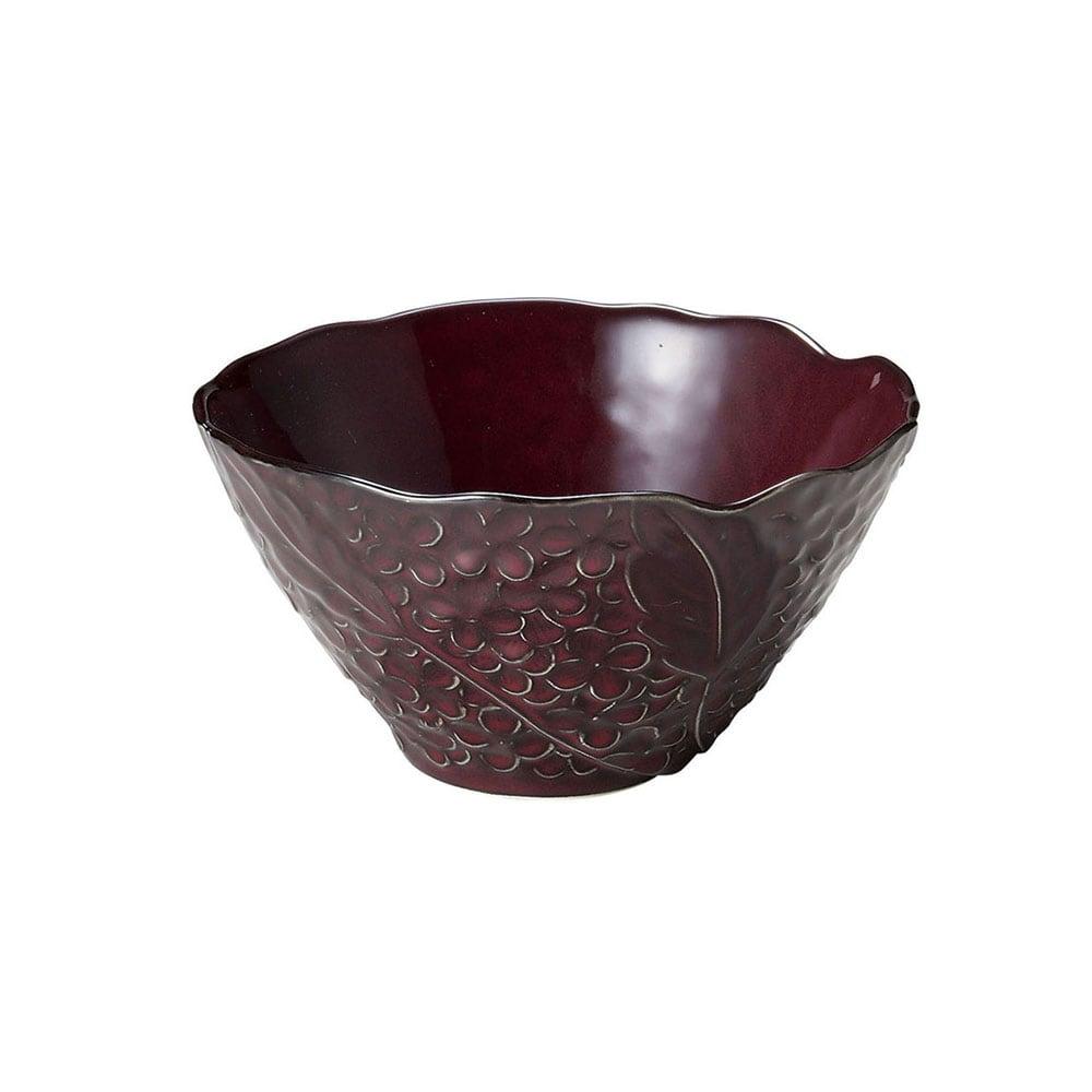 aito製作所 「リアン Lien」サラダ&フルーツボウル 皿 約18cm L パープル 美濃焼 267823