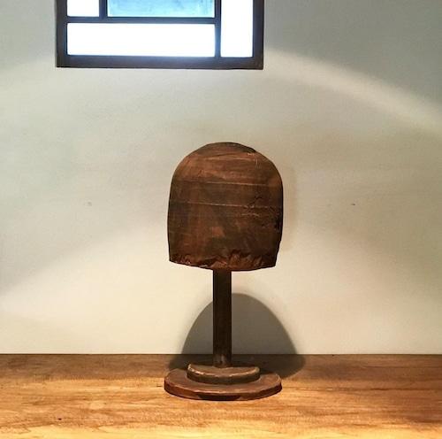 木製の帽子置き レトロ アンティーク
