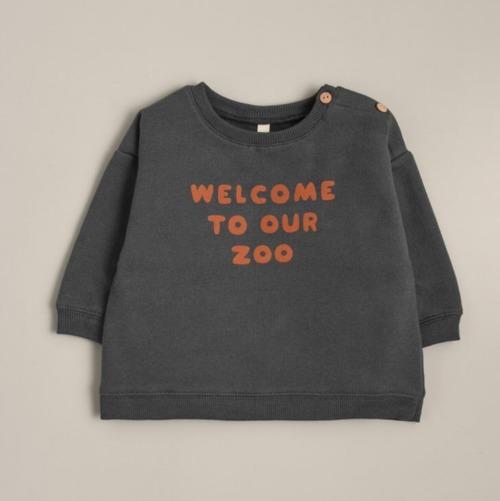 organic zoo 「Welcome To Our Zoo Sweatshirt SBSWZ」