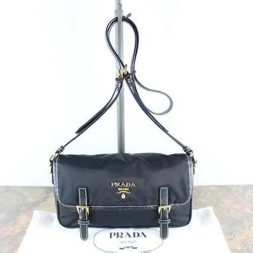 .PRADA LOGO NYLON BELT DESIGN SHOULDER BAG MADE IN ITALY/プラダロゴナイロンベルトデザインショルダーバッグ2000000051932