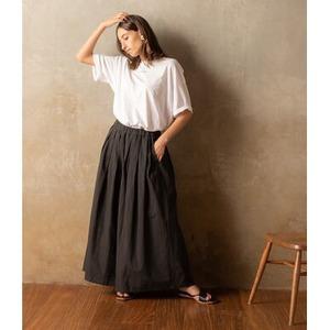 【MUSUBI】春夏 8部丈スカーチョ【日本製】