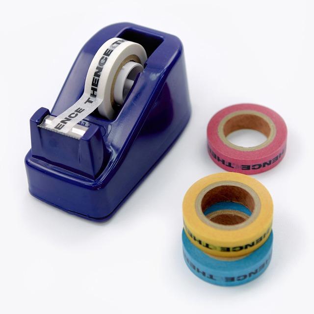 「STD1」マスキングテープ 2色セット(イエロー/ブラック)