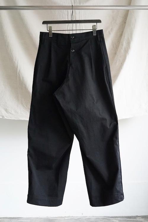 <SOLD OUT >TUKI - reversed pants (black)