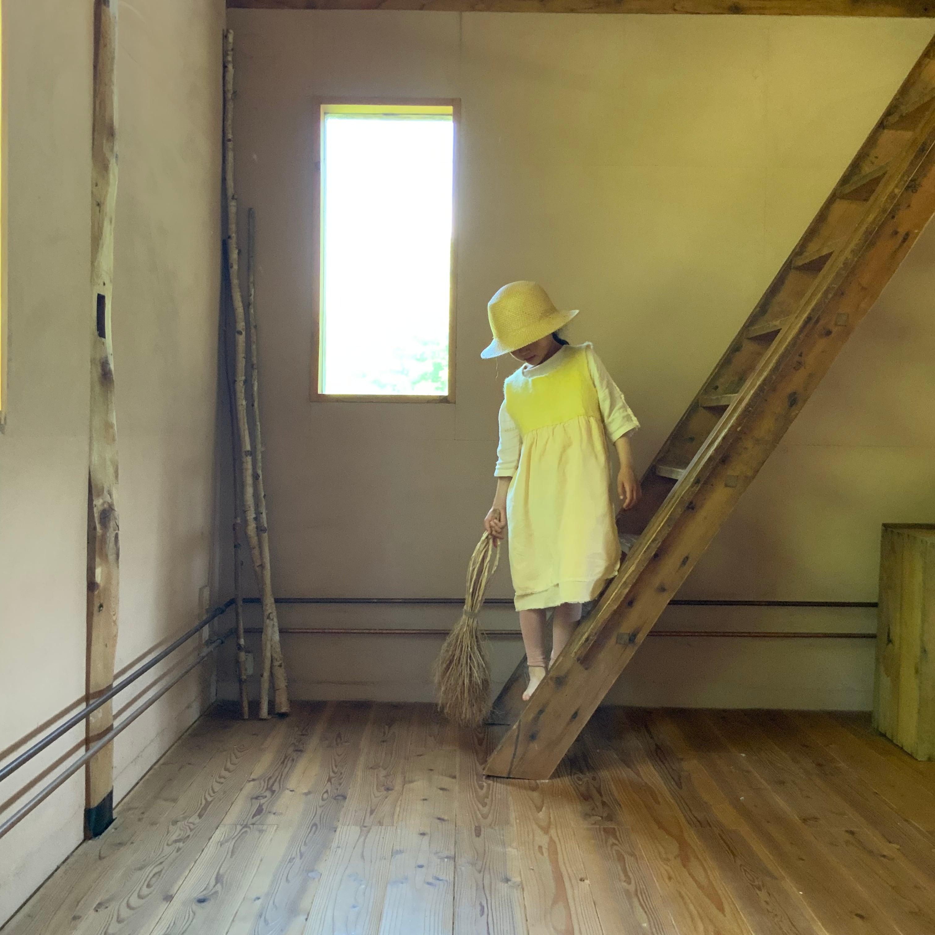 OPCLKS2-21002 ワンピースコリーヌ キッズ ショート丈 黄色