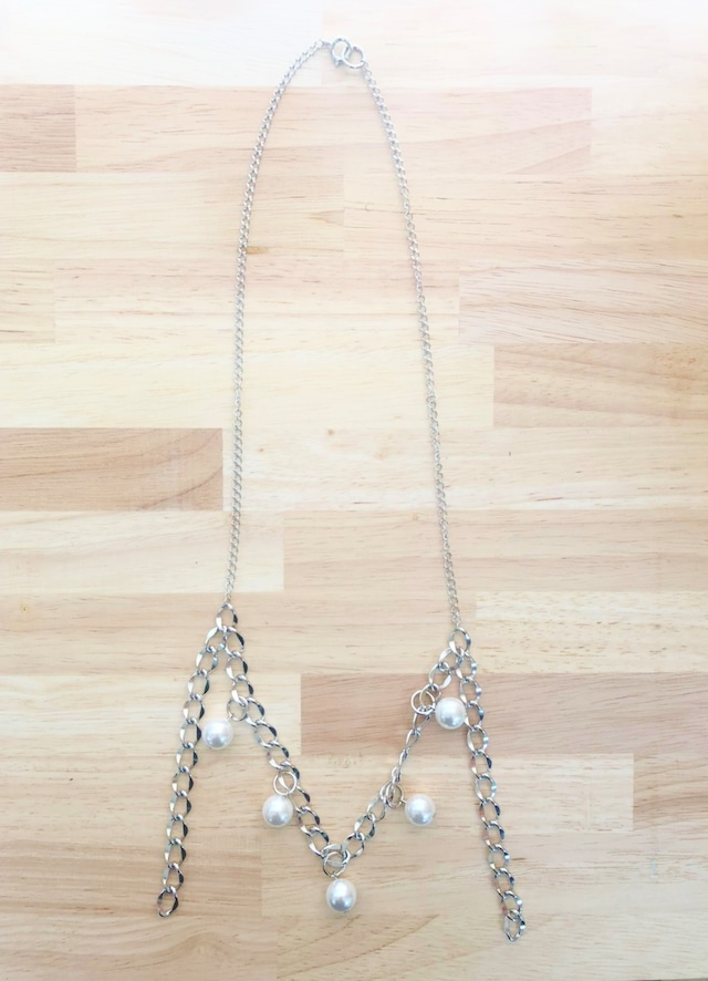 CHAIN PEARL NECKLACE