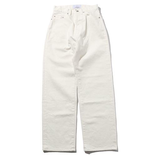 WIDE DENIM PANTS [ WHITE ]