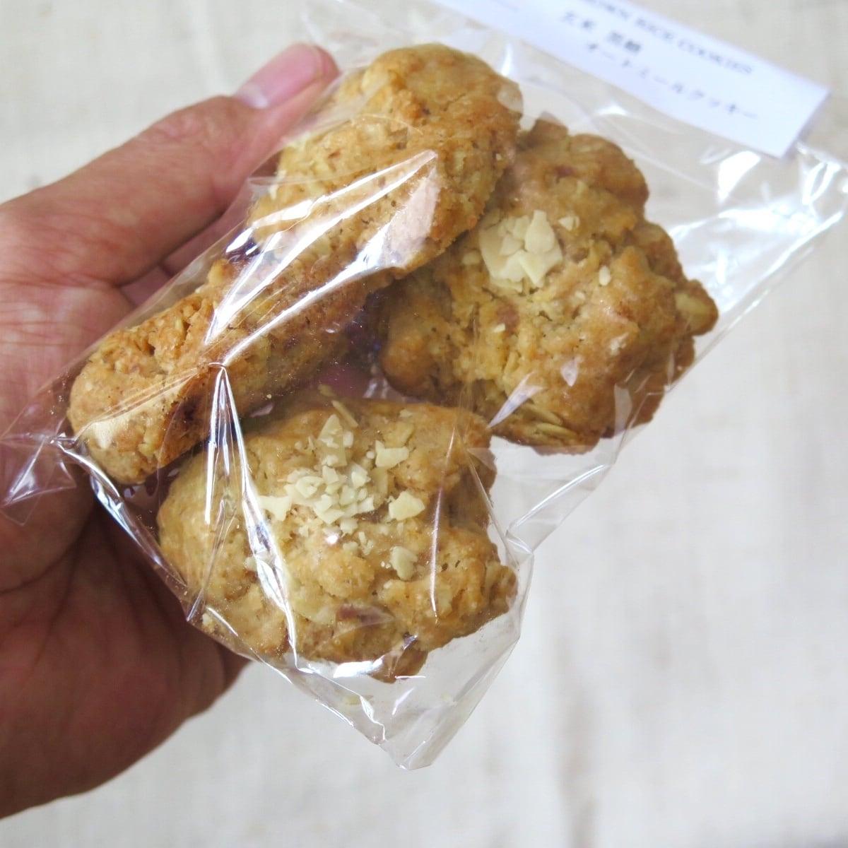 米粉  黒糖  オートミール  クッキー - 画像2