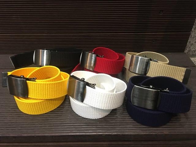 Nobrand|Solid Long Belt【re:stock】