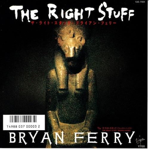 【7inch・国内盤】ブライアン・フェリー / ザ・ライト・スタッフ