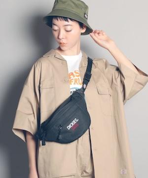 14738700【DICKIES/ディッキーズ】DK USA EMB WAIST BAG / 刺繍ウエストバッグ