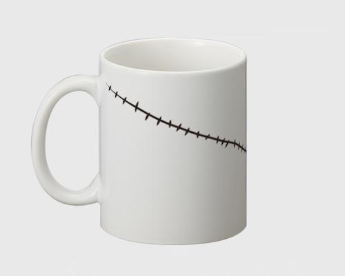 「傷」マグカップ