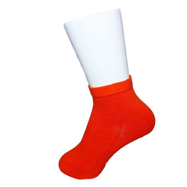 【Inner-Fact】 Round Socks Short(Dark Orange)
