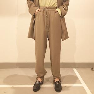 【WOMENS - 2 size】DROW CODE PANTS / Beige