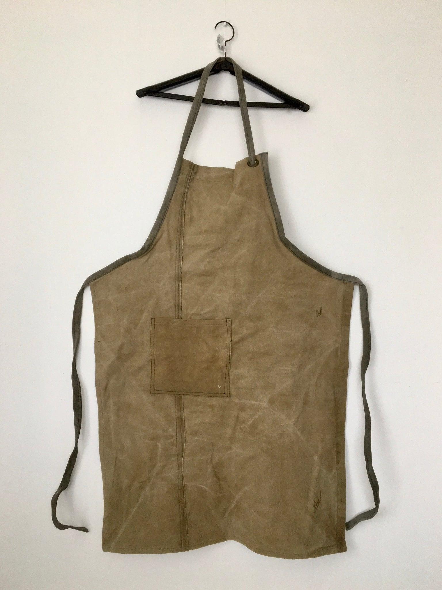 ヴィンテージのテント生地のエプロン Vintage Tent Fabric Apron(PUEBCO)