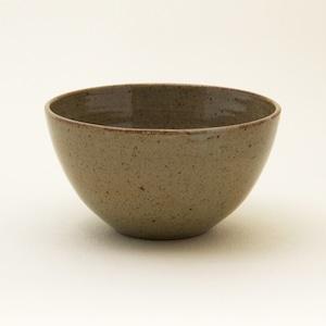 常陸窯いそべ陶苑 ボール Φ14 灰釉(RF) 笠間焼 Kasama Pottery