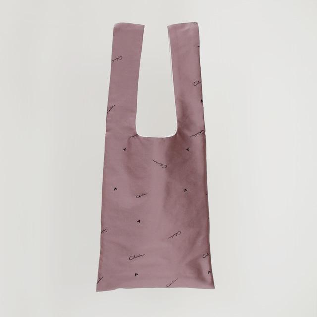Charrm Original logo bag NO.1  -Dusty pink