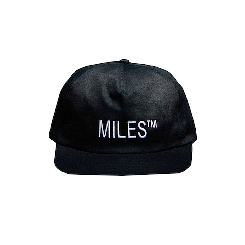 MILES™ / LOGO HAT -BLACK-