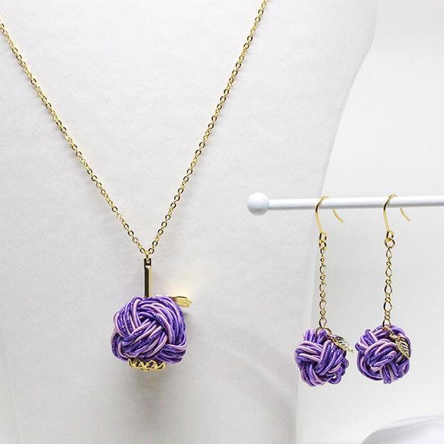 魅惑の香り紫りんご アクセサリーセット