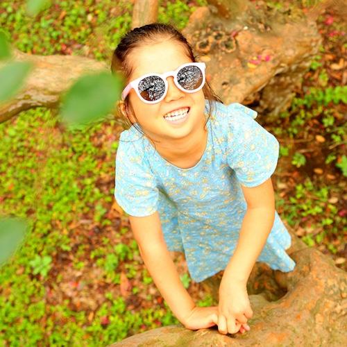delieb  NAHANNI シリーズ キッズサングラス(3~12歳用) 日よけ 暑さ対策 お出かけ 紫外線対策
