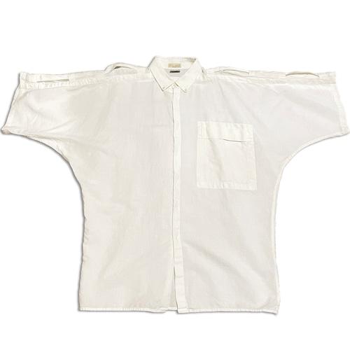 90's ITALY製 S/S リネンシャツ