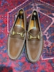 .GUCCI LEATHER HORSE BIT LOAFER MADE IN ITALY/グッチレザーホースビットローファー 2000000050171