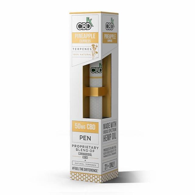 【定期お得便】CBDfx パイナップルエキスプレス - CBD Terpenes Vape Pen 50mg