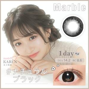 マーブルワンデー(Marble 1DAY)《NATURAL BLACK》ナチュラルブラック[10枚入り]