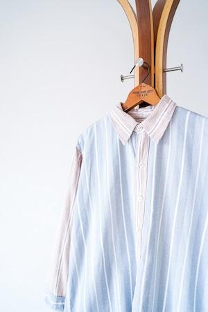 "【1960s】""Germany Made"" Euro Vintage Grandpa Shirts / v701"