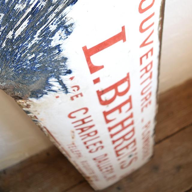 サインプレート 看板 「L.BEHRENS」