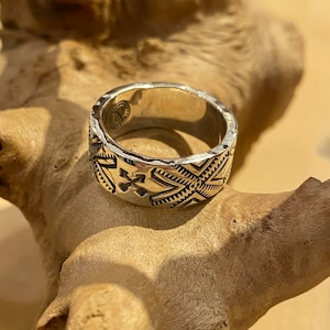 【BARNS OUTFITTERS】 NORTH WORKS Silver Ring バーンズ ノースワークス シルバー リング