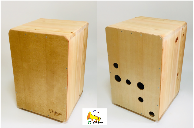 【ふるさと納税限定モデル】yahman cajon ヤーマン カホン Swing Box 木目の美しい洗練されたデザイン♪