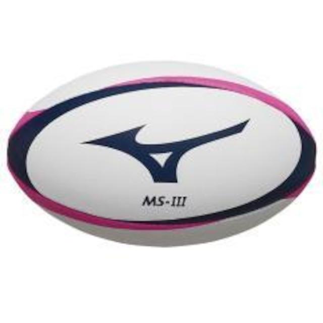 mizuno【日本ラグビーフットボール協会 公認球】ラグビーボールMS-III(3号球)