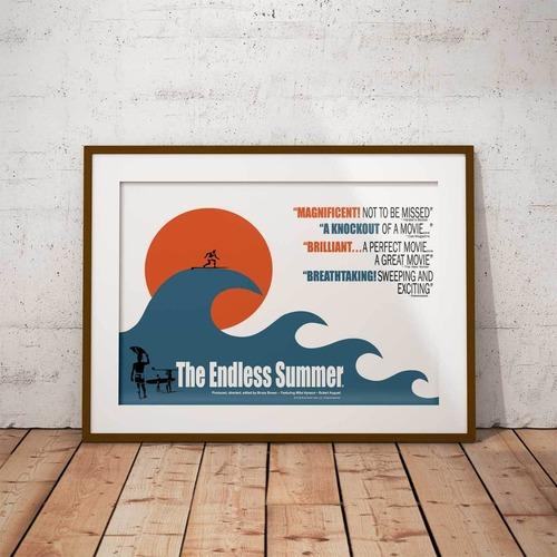 サーフィン映画A3ポスター・The Endless Summer (エンドレスサマー)・ウェーブ